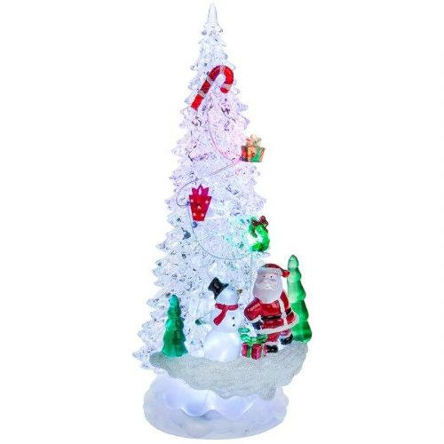 Tall Flashing Lights LED Christmas Tree Novelty Decoration